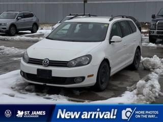 Used 2011 Volkswagen Golf Wagon Comfortline 2.0L TDI, CLEAN CARFAX!!! for sale in Winnipeg, MB