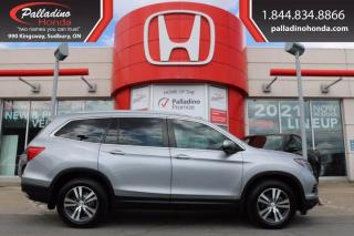 Used 2017 Honda Pilot EX-L - SUNROOF SPACIOUS & FUN TO DRIVE - for sale in Sudbury, ON