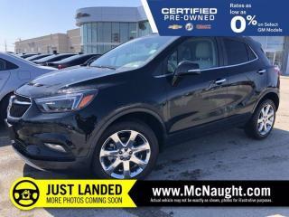 Used 2017 Buick Encore Premium   Heated Steering Wheel   Navigation   for sale in Winnipeg, MB