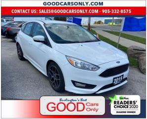 Used 2015 Ford Focus SE for sale in Burlington, ON