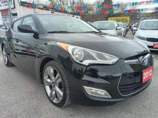 Used 2012 Hyundai Veloster w/Tech-ONLY 98K-NAVI-BK UP CAM-PANOROOF-AUX-ALLOYS for sale in Scarborough, ON