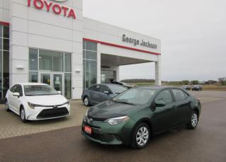 Used 2016 Toyota Corolla LE Base for sale in Renfrew, ON