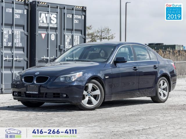 2004 BMW 5 Series 2004 530i|Low kms|2 sets of wheels and tires|