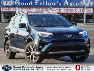 Used 2018 Toyota RAV4 SE MODEL, AWD, LEATHER SEATS, SUNROOF, BACKUP CAM for sale in Toronto, ON