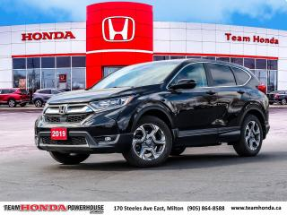 Used 2019 Honda CR-V EX-L--1 Owner--No Accidents--Leather--Sunroof--AWD for sale in Milton, ON