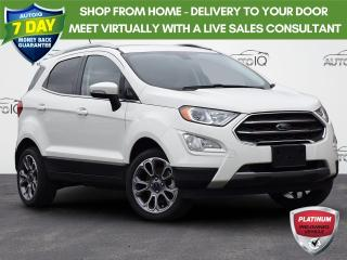 Used 2020 Ford EcoSport Titanium TITANIUM| LEATHER | 2.0 l | REVERSE CAMERA | NAV | LOW KM'S for sale in Waterloo, ON