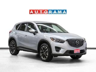 Used 2016 Mazda CX-5 AWD Navigation Leather Sunroof Backup Cam for sale in Toronto, ON