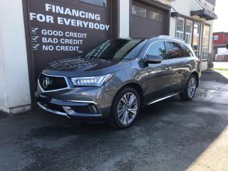Used 2017 Acura MDX Elite Pkg for sale in Abbotsford, BC