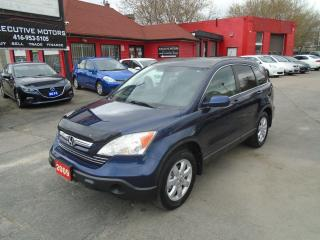 Used 2009 Honda CR-V EX-L / LEATHER /ROOF / NAV /REAR CAM / A/C / MINT for sale in Scarborough, ON