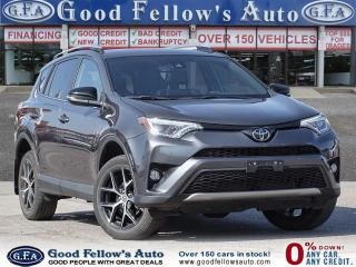 Used 2017 Toyota RAV4 SE MODEL, AWD, LEATHER SEATS, SUNROOF, NAVIGATION for sale in Toronto, ON