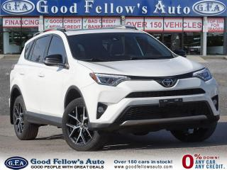 Used 2017 Toyota RAV4 SE AWD, LEATHER SEATS, SUNROOF, NAV, LANE DEPARTUR for sale in Toronto, ON