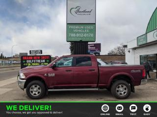 Used 2017 RAM 2500 SLT CUMMINS DIESEL | BACK UP CAMERA | TONNEAU COVER | REMOTE START | HEATED SEATS-USED EDMONTON RAM DEAL for sale in Edmonton, AB