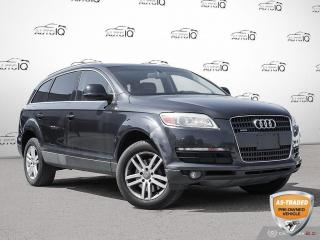 Used 2007 Audi Q7 3.6 Premium You Safety You Save!! for sale in Oakville, ON