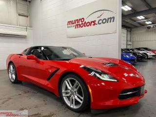 Used 2019 Chevrolet Corvette 2dr Stingray Cpe w-1LT 7spd NPP exhaust TorchRed for sale in St. George, ON