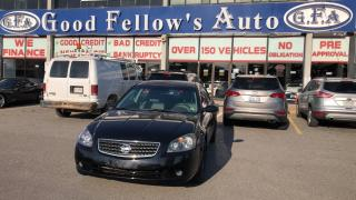 Used 2005 Nissan Altima S MODEL, 2.5L 4CYL, POWER SEATS, FWD for sale in Toronto, ON