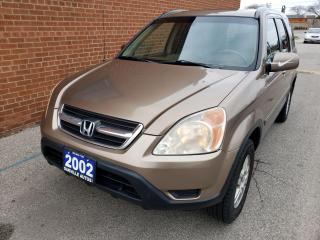 Used 2002 Honda CR-V 4WD EXL, LEATHER, ROOF, ALLOYS for sale in Oakville, ON
