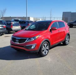Used 2012 Kia Sportage EX | NAVI | LEATHER | $0 DOWN EVERYONE APPROVED!! for sale in Calgary, AB