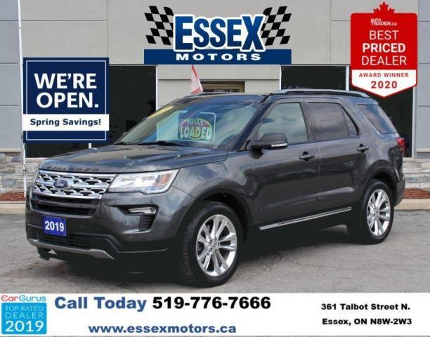 2019 Ford Explorer XLT*4x4*Heated Leather*Moon Roof*CarPlay