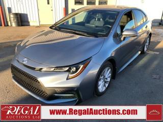 Used 2020 Toyota Corolla SE 4D Sedan 2.0L for sale in Calgary, AB
