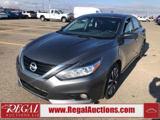 Used 2017 Nissan Altima SV 4D SEDAN 2.5L for sale in Calgary, AB