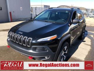 Used 2018 Jeep Cherokee Trailhawk 4D Utility 4WD 3.2L for sale in Calgary, AB