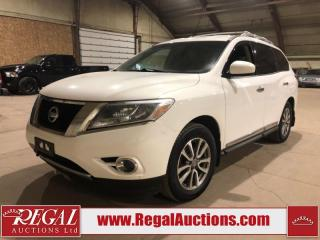 Used 2013 Nissan Pathfinder SL 4D Utility 4WD for sale in Calgary, AB