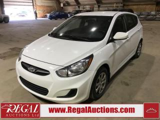 Used 2013 Hyundai Accent 5D Hatchback AT for sale in Calgary, AB