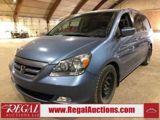 Used 2006 Honda Odyssey Touring 4D Wagon for sale in Calgary, AB