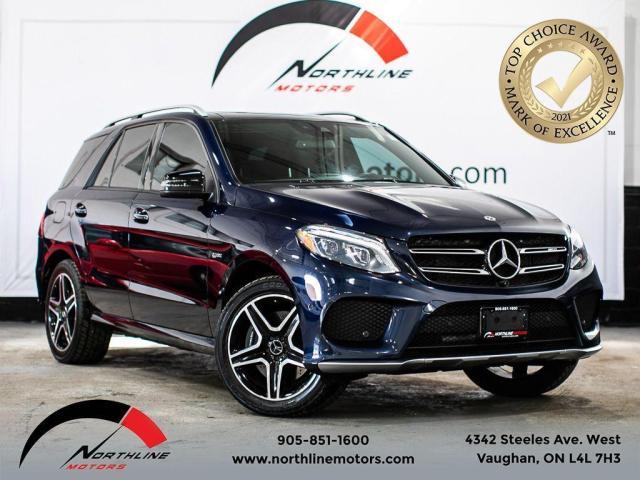 2017 Mercedes-Benz GLE GLE43 AMG/Navigation/Pano Roof/Blindspot/360 Cam
