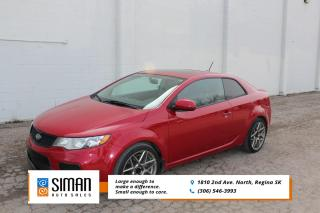 Used 2013 Kia Forte Koup 2.4L SX Luxury LEATHER SUNROOF for sale in Regina, SK
