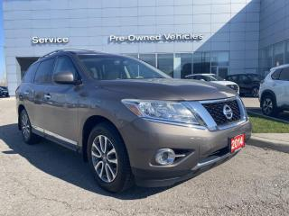 Used 2014 Nissan Pathfinder SL ONE OWNER ACCIDENT FREE , WELL MAINTAINED TRADE. for sale in Toronto, ON