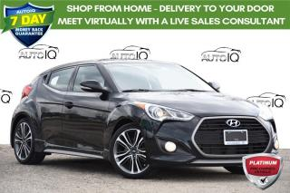Used 2016 Hyundai Veloster Turbo TURBO | MANUAL | LEATHER | NAVI | for sale in Kitchener, ON