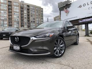 Used 2020 Mazda MAZDA6 GS-L No Accidents, Sunroof, Heated Seats, Heated Steering, Rear View Camera for sale in North York, ON