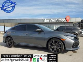 Used 2019 Honda Civic Hatchback Sport Touring Leather Navi Sunroof NO ACCIDENTS! for sale in Winnipeg, MB