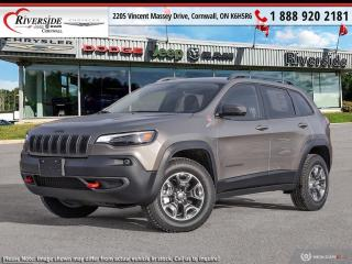 New 2021 Jeep Cherokee Trailhawk for sale in Cornwall, ON