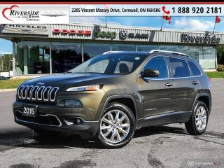 Used 2015 Jeep Cherokee Limited for sale in Cornwall, ON