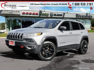 Used 2018 Jeep Cherokee Trailhawk for sale in Cornwall, ON