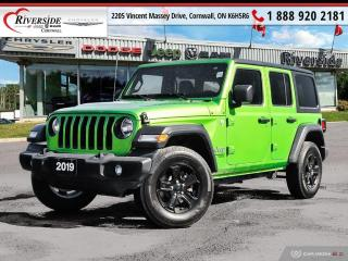 Used 2019 Jeep Wrangler UNLIMITED SPORT for sale in Cornwall, ON