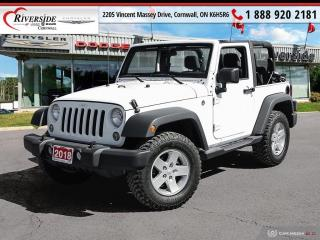 Used 2018 Jeep Wrangler JK Sport for sale in Cornwall, ON