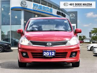 Used 2012 Nissan Versa NO ACCIDENTS| SUNROOF| ALLOY WHEELS for sale in Mississauga, ON