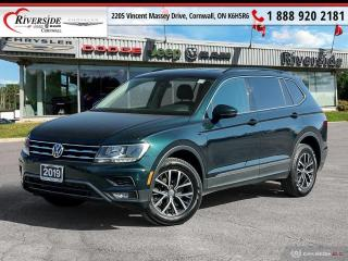 Used 2019 Volkswagen Tiguan COMFORTLINE for sale in Cornwall, ON