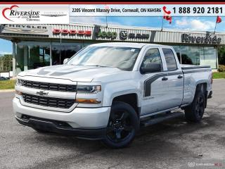 Used 2017 Chevrolet Silverado 1500 Silverado Custom for sale in Cornwall, ON