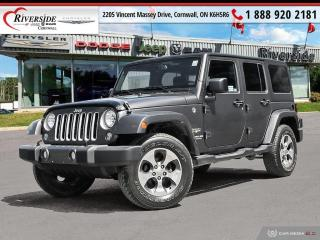 Used 2017 Jeep Wrangler Unlimited Sahara for sale in Cornwall, ON
