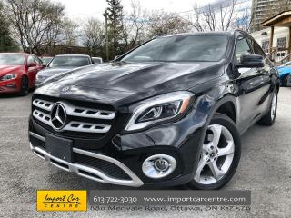 Used 2018 Mercedes-Benz GLA ALLOYS  ROOF  NAVI  HTD SEATS  BACKUP CAM for sale in Ottawa, ON