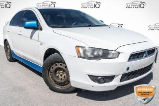Used 2010 Mitsubishi Lancer SE SOLD AS TRADED, YOU CERTIFY, YOU SAVE!!! for sale in Barrie, ON