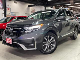 Used 2020 Honda CR-V Touring -  Navi - Leather - P. Roof - Rear Camera for sale in Mississauga, ON