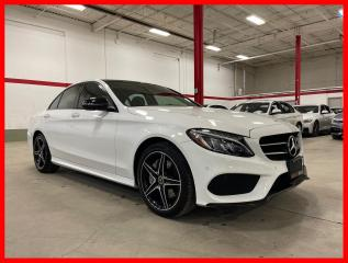 Used 2017 Mercedes-Benz C-Class C300 4MATIC BURMESTER NIGHT PREMIUM PLUS ACTIVE LED for sale in Vaughan, ON