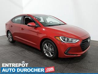 Used 2018 Hyundai Elantra GL - Caméra de Recul - Bluetooth - Climatiseur for sale in Laval, QC