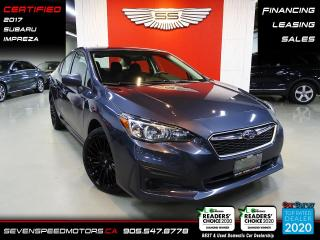 Used 2017 Subaru Impreza AUTO | CERTIFIED | FINANCE | 9055478778 for sale in Oakville, ON
