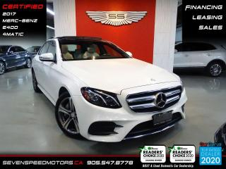 Used 2017 Mercedes-Benz E-Class CLEAN CARFAX | MB WARRANTY | CERTIFIED | FINANCE | 9055478778 for sale in Oakville, ON